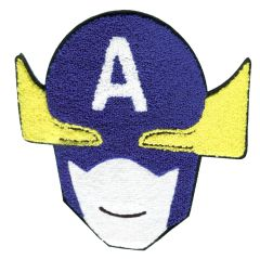 Captain America Patch Extra Large Chenille (21.5cm)
