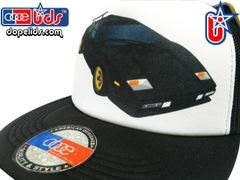 smARTpatches Truckers Vintage Style 80's Countach Trucker Hat