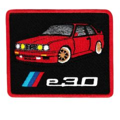Vintage Style M3 e30 Patch Badge 8.5cm