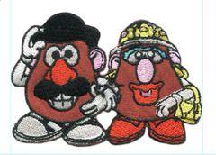 Mr Potato Head Patch Vintage Style 8cm