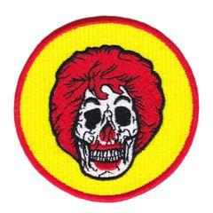 Skull Patch Ronald McSkull Clown Skull 8cm