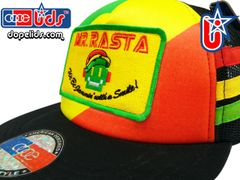 smARTpatches Truckers 89eighty Mr. Rasta Robot Vintage Style Trucker Hat