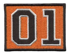 Dukes of Hazzard 01 Patch 8cm x 6.5cm