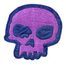Skull Patch Cute Girls 7.5cm