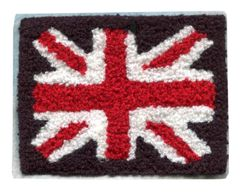 Extra Large Chenille Union Jack Patch (13cm x 10cm)