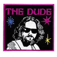 "Large ""The Dude"" Bowling Patch 10.5cm"