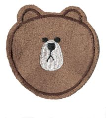 Grizzly Bear Patch 9cm