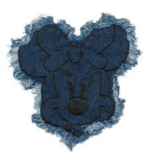 Denim Minnie Mouse Patch XL 18cm