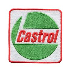 "Vintage Style ""Castrol"" 1970's 80's Oil Patch 7.5cm"