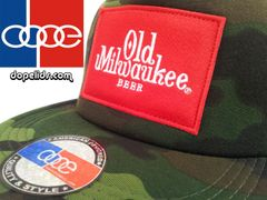 smartpatches Old Milwaukee Vintage Style Trucker Hat (Camo)