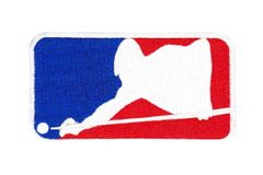 """Pack of 10"" Major League Billiards Pool Patches 10cm"