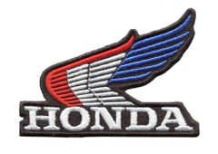 Honda Wing Vintage Style Motorcycle Patch 10cm x 7cm (3 colors inside)