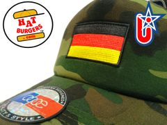 smartpatches Truckers German Flag Germany Trucker Hat Curved Bill (Camo)