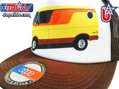 smARTpatches Truckers 79seventy 70's Custom Van Trucker Hat