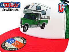 smARTpatches Truckers 79seventy Pickup Camper Trucker Hat