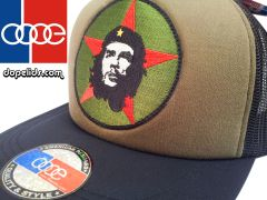 "smartpatches ""Che Guevara"" Vintage Style Revolution Trucker Hat (OD Green/Black Hat)"