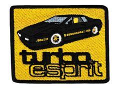 Vintage Syle Lotus Patch Turbo Esprit 8.5cm