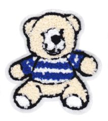 Chenille Teddy Bear Patch 10cm