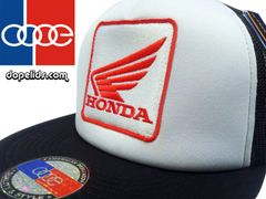 smartpatches Honda Motorcycle Hat (Black and White)