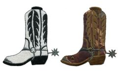 Cowboy Boot Patch 9.5cm (2 styless available)