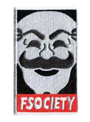fsociety patch Mr. Robot (8cm x 5cm)