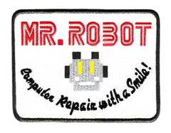 Mr. Robot Patch fsociety (10cm x 7.6cm) (4 inches x 3 inches)