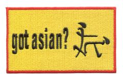 Got Asian Funny Patch 12cm x 7cm