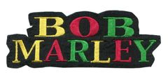 Bob Marley Rasta Patch 13cm