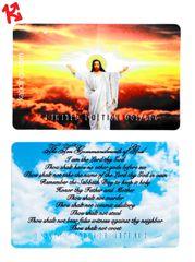 Christian Ten Commandments Kaboingo Card Limited Edition/500
