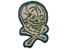 Skull Patch Crazy Eyes 10cm