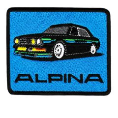 Vintage Style Alpina M5 e28 Patch Badge 8.5cm