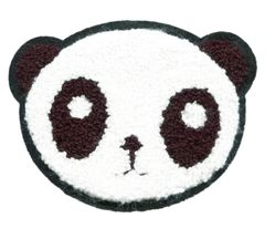 Panda Bear Patch Chenille 11cm