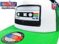 smARTpatches Truckers 79seventy 80's Cassette Tape Trucker Hat
