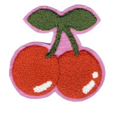 Chenille Cherry Patch XL 13cm
