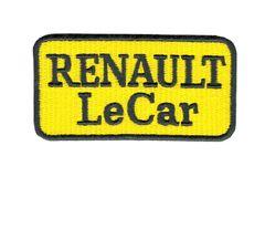 Renault Le Car Patch Vintage Style 7.5cm