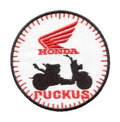 Honda Ruckus Patch Black 8cm