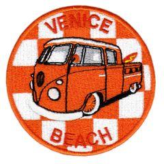 Vintage Style Venice Beach Surfing Surfer Patch 9cm