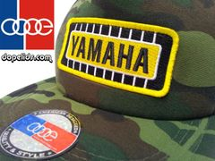 smartpatches Yamaha Vintage Style Motorcycle Trucker Hat (Camo)
