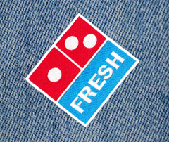 Cool DJ Fresh Pizza Hip Hop Club Patch 7cm