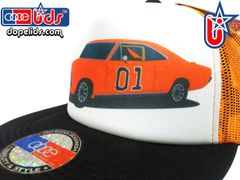 smARTpatches Truckers 79seventy 70's Dukes of Hazzard General Lee Trucker Hat