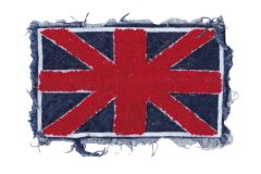 Chenille & Fringe Union Jack British Patch (22cm)