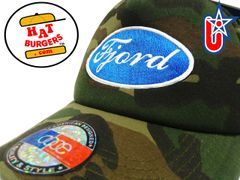 "smARTpatches Truckers ""Fjord"" Racing Trucker Hat Curved Bill Norway Finland(Camo)"