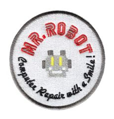 Mr. Robot Patch fsociety 8cm (Something Different- Round)