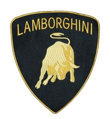Lamborghini XXL Patch 30cm x 26.5 cm (3 Sizes Available)