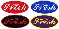 "Cool ""Fresh"" Patch Dope DJ Hip Hop Club 10cm"