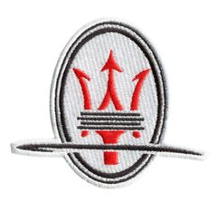 Italian Car Racing Patch 8.5cm