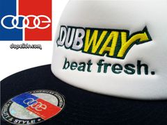 "smartpatches ""Dubway Beat Fresh"" Vintage Style Trucker Hat"