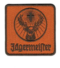 Jagermeister Racing Patch 8cm