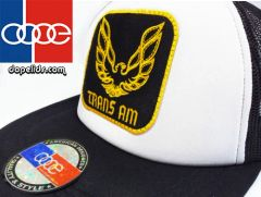 "smartpatches ""Trans Am"" Vintage Style Trucker Hat"