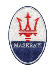 Vintage Style Italian Car Racing Patch 8cm